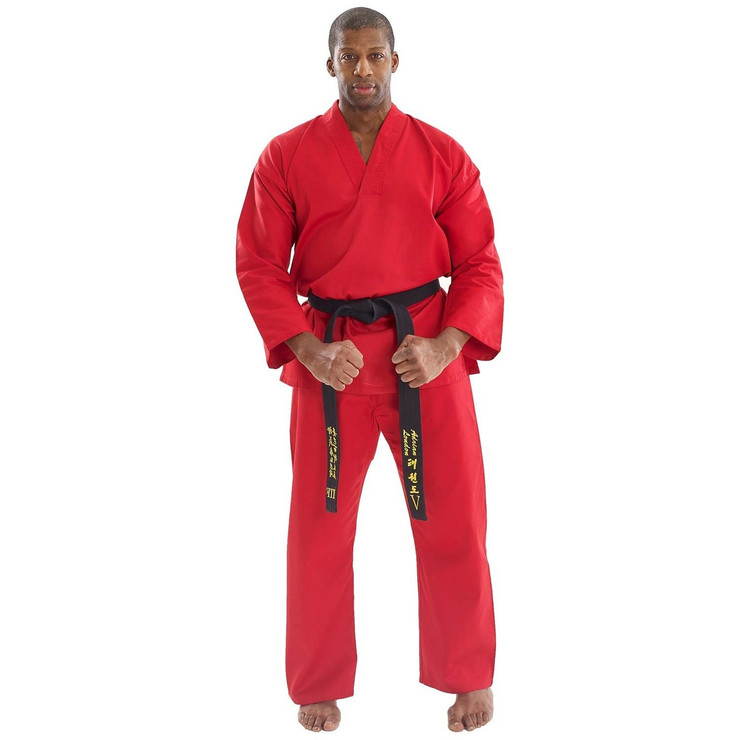 Bytomic Adult V-Neck Uniform Red