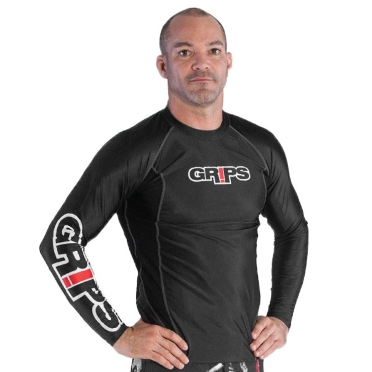 Gr1ps Athletics Armadura Long Sleeve Mens Rash Guard
