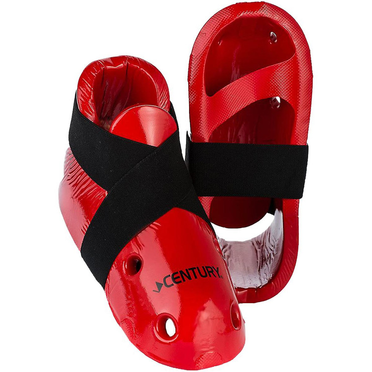 Century Sparring Boots Red for Adults & Kids
