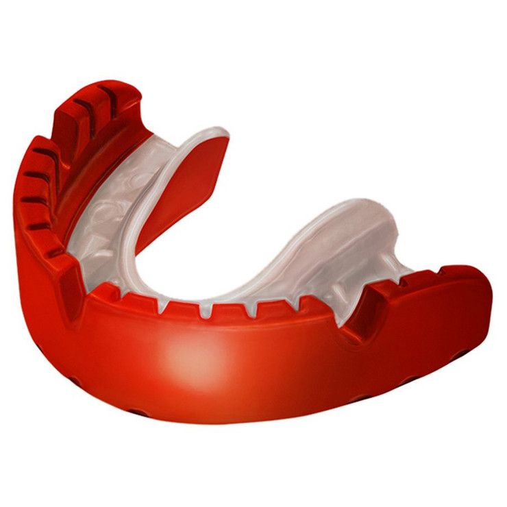 Opro Ortho Gold Braces Gen 3 Mouthguard Red