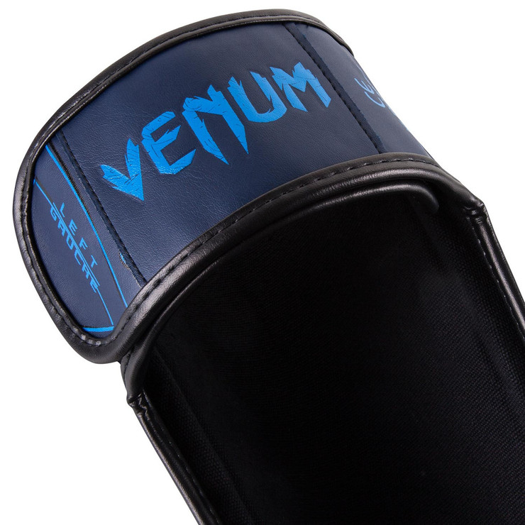 Venum Nightcrawler Shin Guards Blue