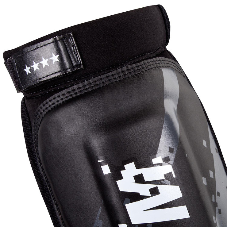 Venum Pixel MMA Shin Guards Black