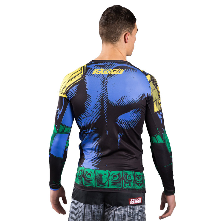 Scramble x Judge Dredd The Law Rashguard