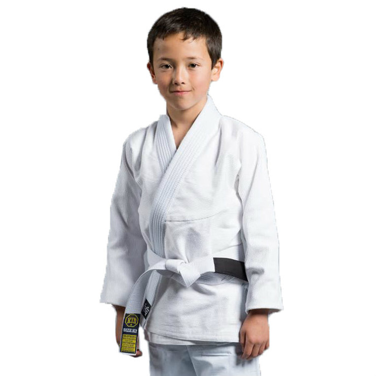 Scramble Standard Issue Kids BJJ Gi White