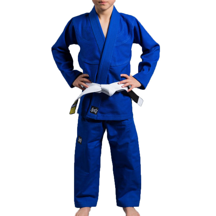 Scramble Standard Issue Kids BJJ Gi Blue
