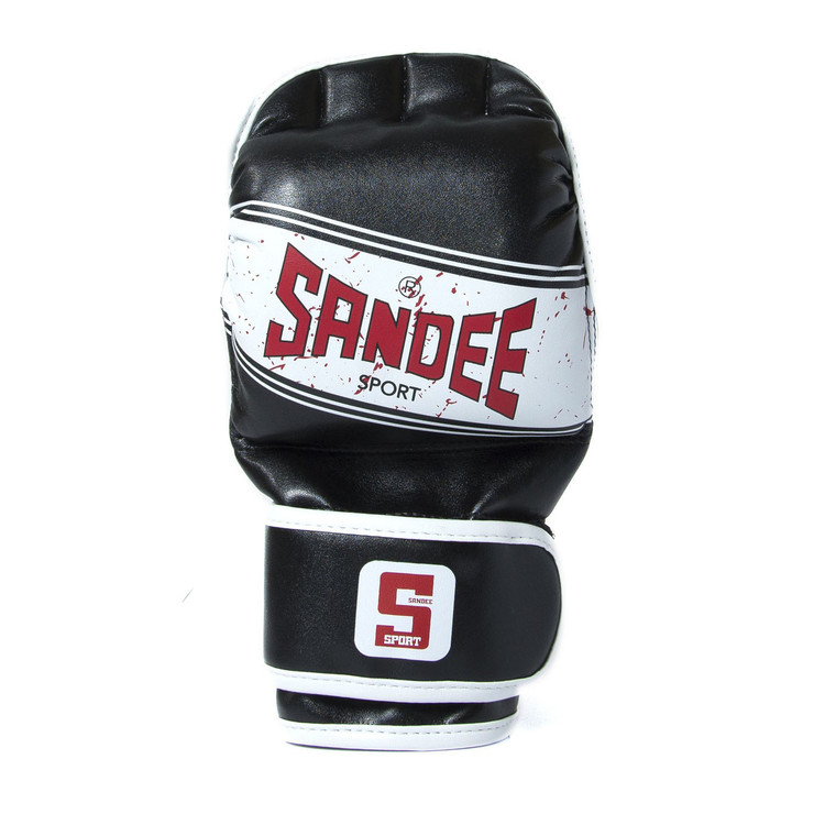 Sandee Sport MMA Sparring Gloves Black/White