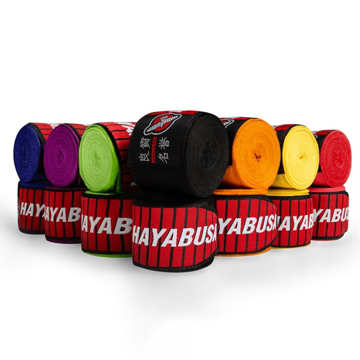 Hayabusa Perfect Stretch 3 Handwraps Black