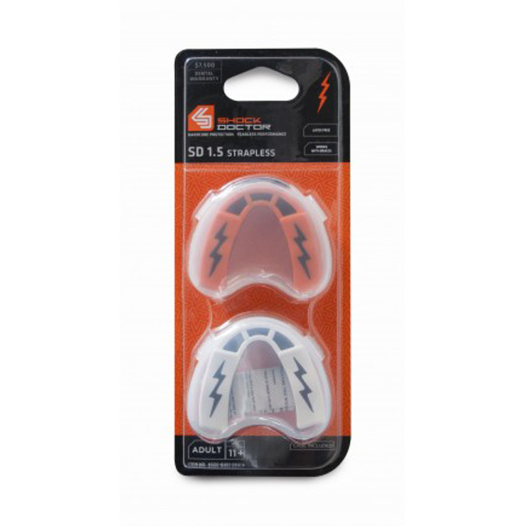 Shock Doctor V1.5 Mouthguard 2 Pack