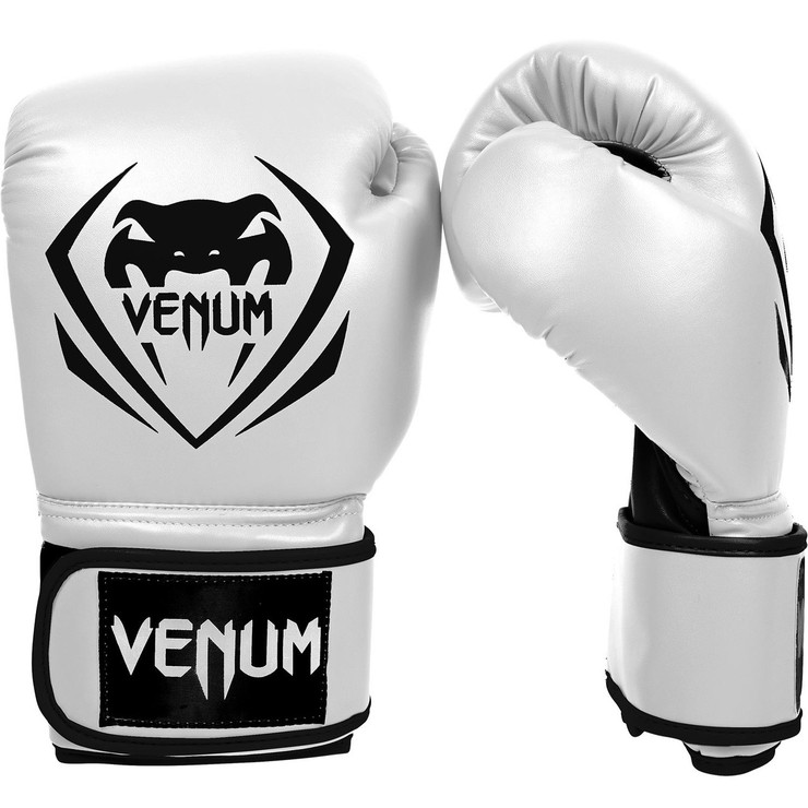 Venum Contender Boxing Gloves White