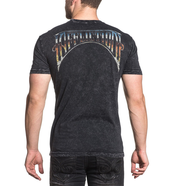 Affliction A Frame Chrome T-Shirt