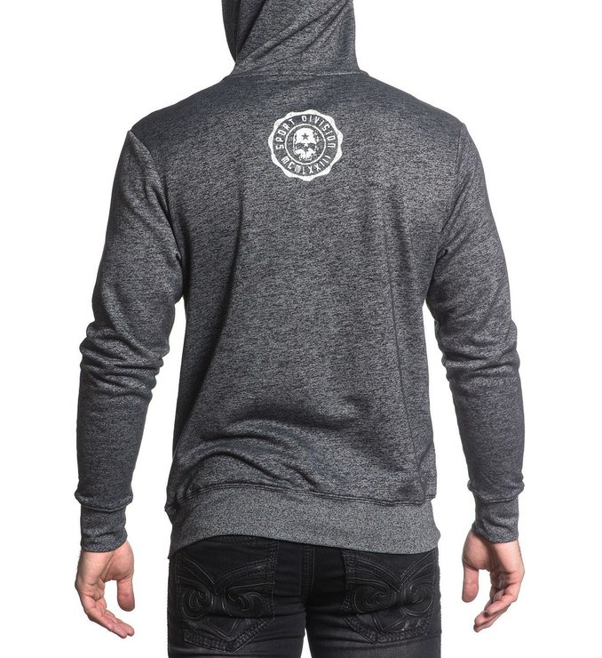 Affliction Skull Sport Hoody