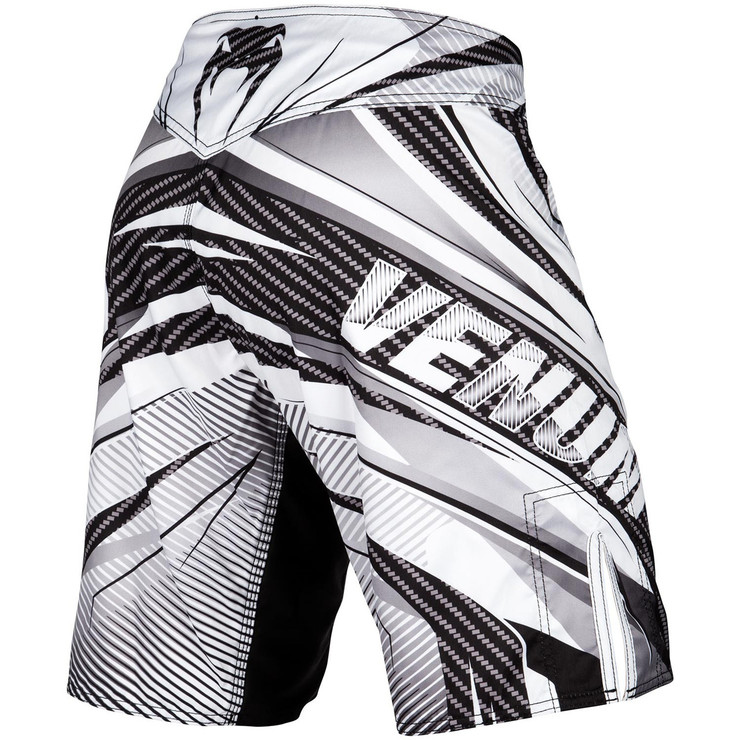 Venum Galactic 2.0 Carbon Fight Shorts White