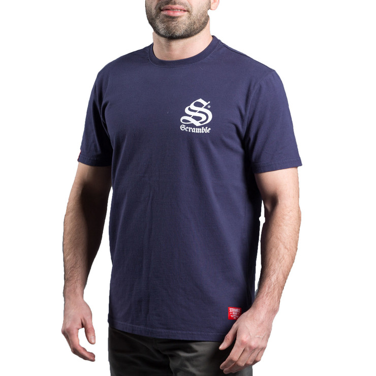 Scramble Inner City T-Shirt Navy