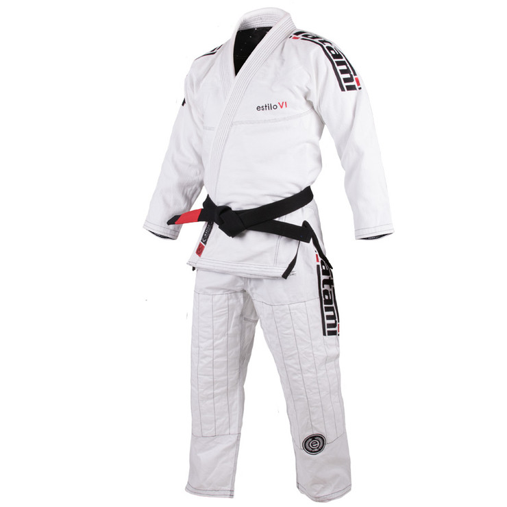 Tatami Fightwear Estilo 6.0 Mens BJJ Gi White/Black