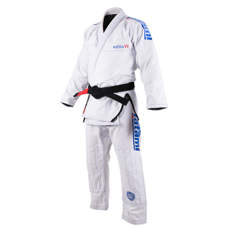 Tatami Fightwear Estilo 6.0 Mens BJJ Gi White/Blue