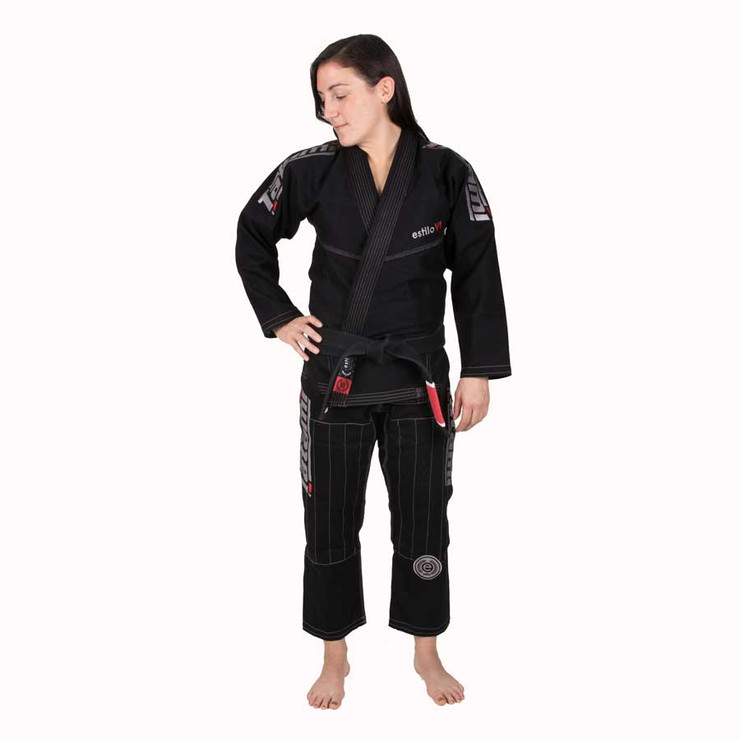 Tatami Fightwear Estilo 6.0 Ladies BJJ Gi Black/Silver