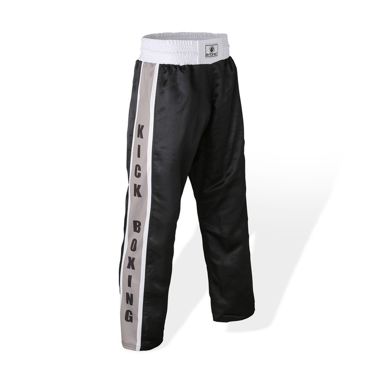 Bytomic Mesh Kickboxing Pants Black/Grey