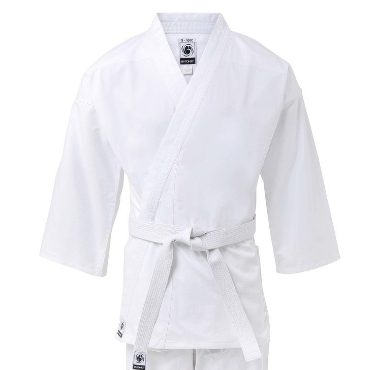 Bytomic Kids 100% Cotton Student White Karate Uniform