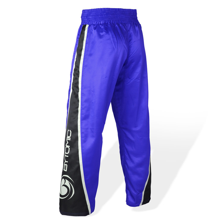 Bytomic Kids V3 Team Kickboxing Pants Blue/Black