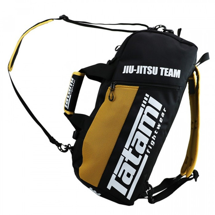 Tatami Fightwear Jiu Jitsu Gear Bag Black/Yellow