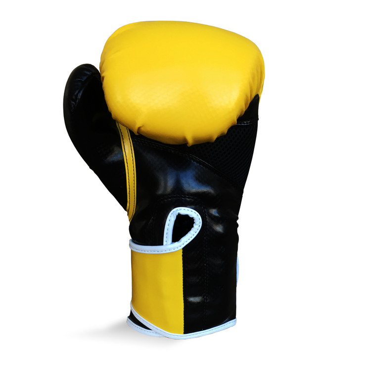Ringside Pro Fitness Boxing Gloves Yellow