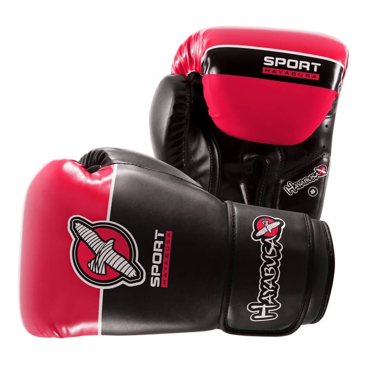 Hayabusa Sport Boxing Gloves Pink/Black