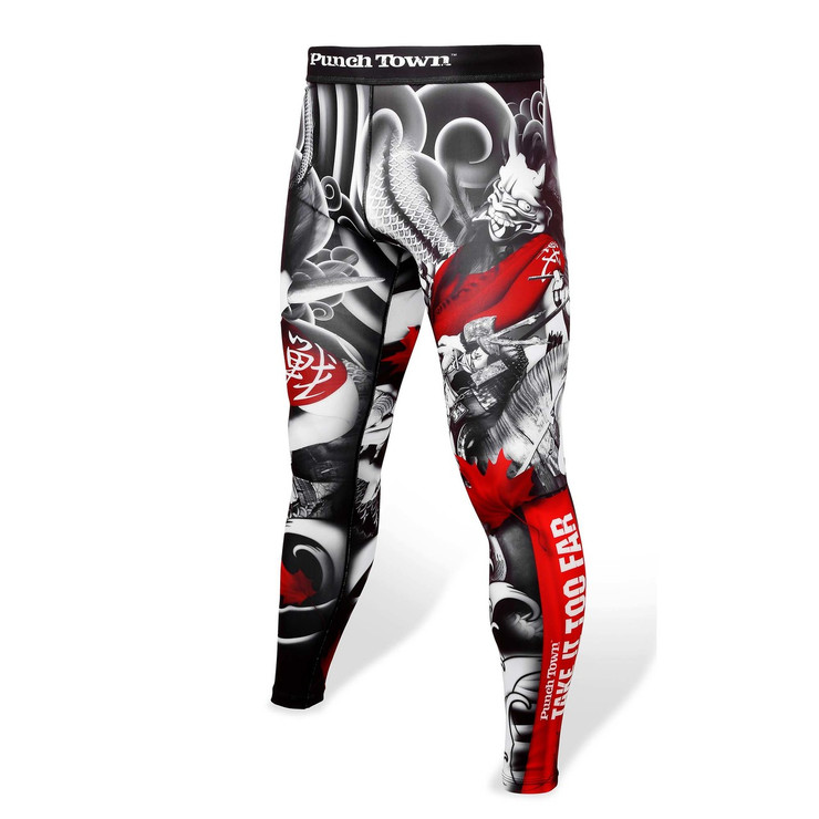 PunchTown Oni Battle Spats