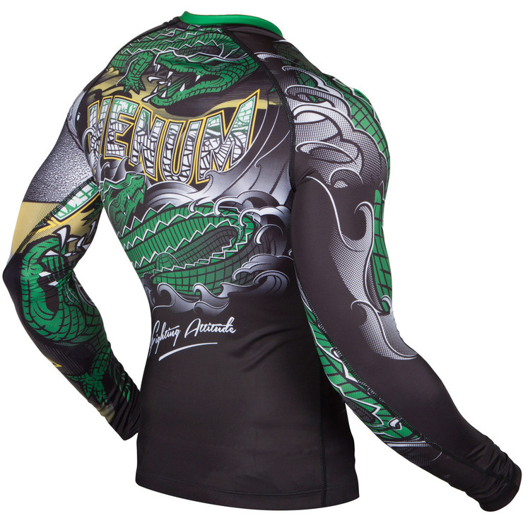 Venum Crocodile Long Sleeve Rash Guard