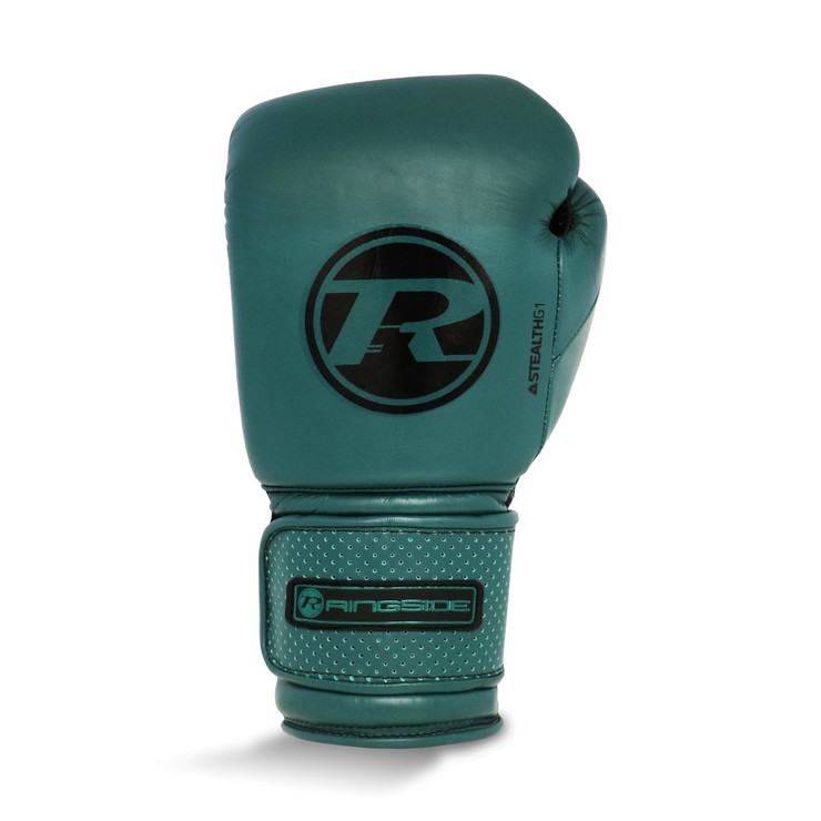 Ringside Stealth Leather Boxing Gloves Emerald Green