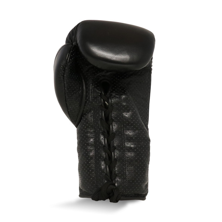 Ringside Stealth Leather Lace Boxing Gloves Black