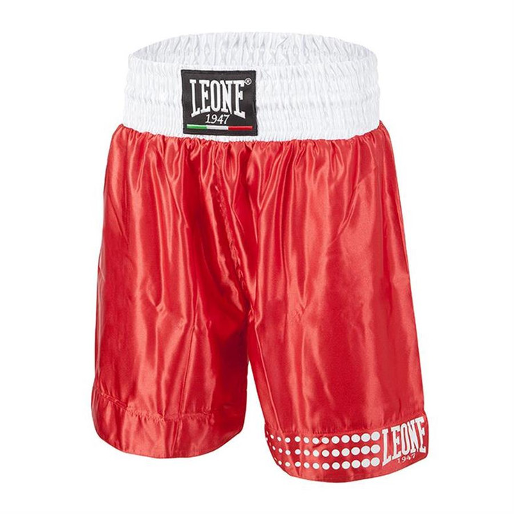 Leone 1947 Boxing Shorts Red