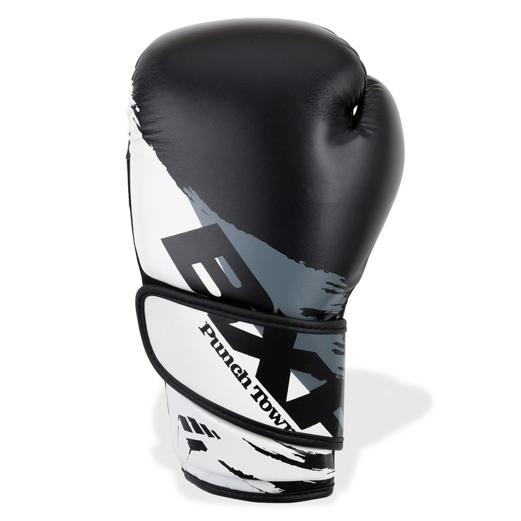 PunchTown BXR MK3 Boxing Gloves Black/White