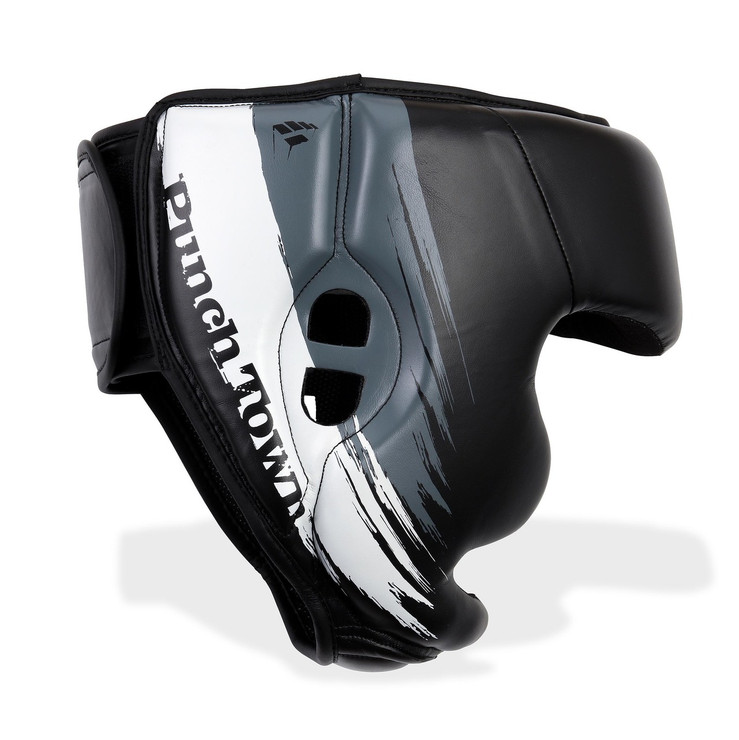 PunchTown Kranion Head Guard Black/White