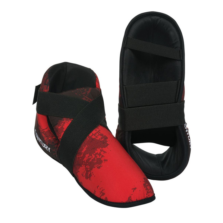Century C-Gear Washable Point Sparring Boots Red/Black