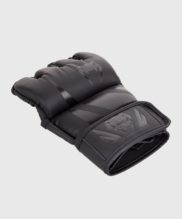 Venum Challenger MMA Gloves - Without Thumb Black/Black