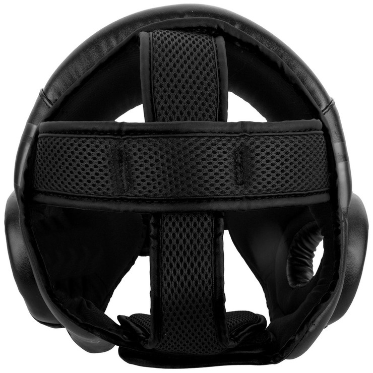 Venum Challenger Open Face Head Guard Black/Black