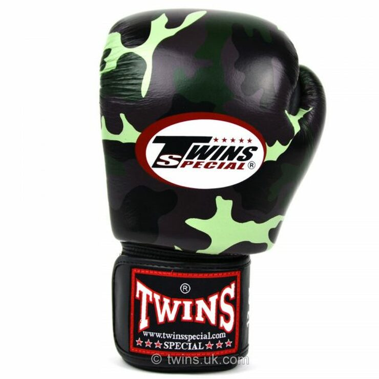 Twins FBGV-JG Jungle Camo Boxing Gloves