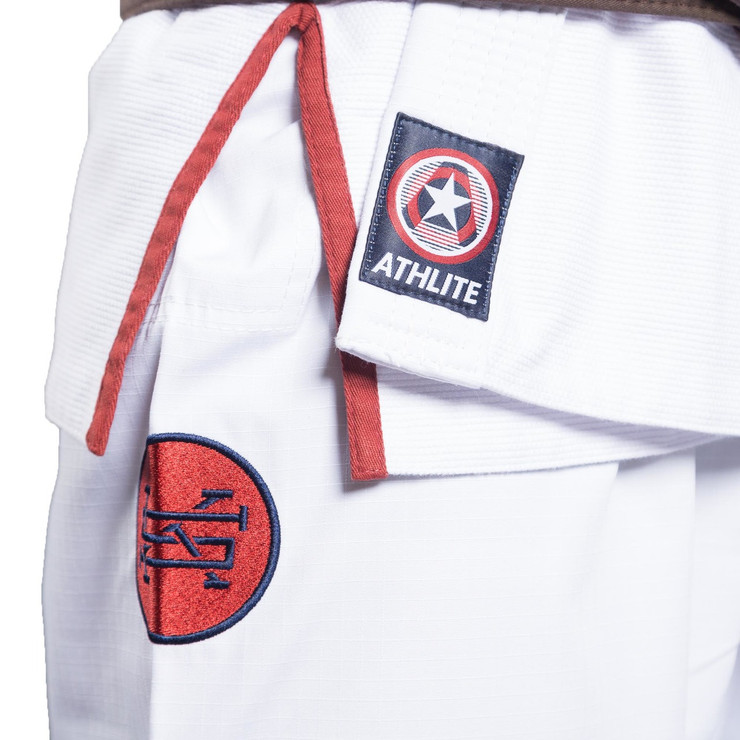 Scramble Athlite Competition BJJ Gi White