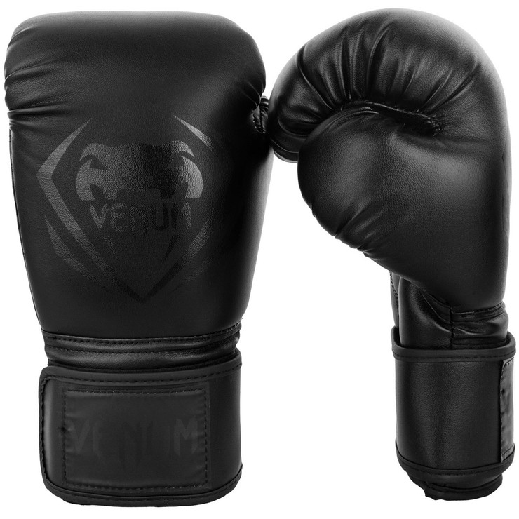 Venum Contender Boxing Gloves Black/Black