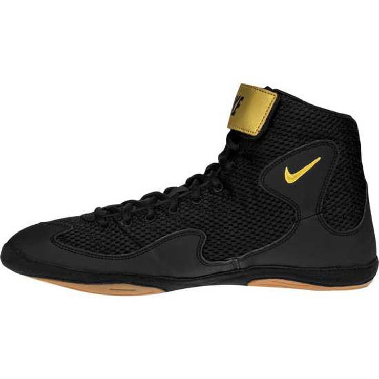 bbe87642e944a ... Nike Inflict 3 Training Boots Black Gold ...