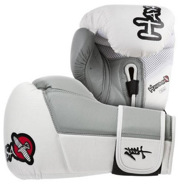Hayabusa Tokushu 16oz Boxing Gloves White/Grey