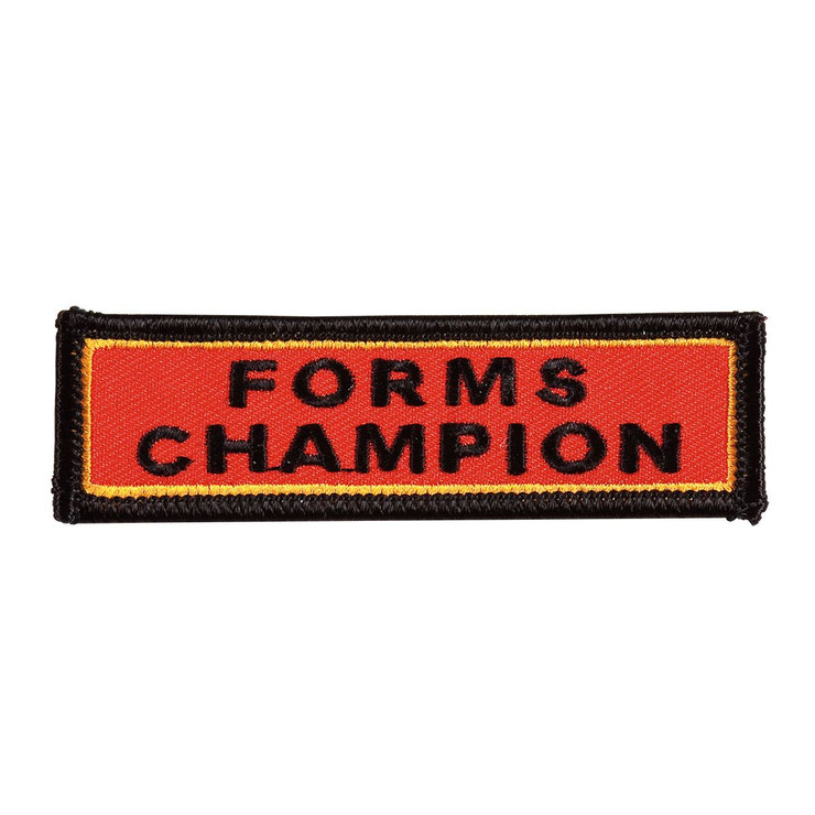Century Forms Champion Patch