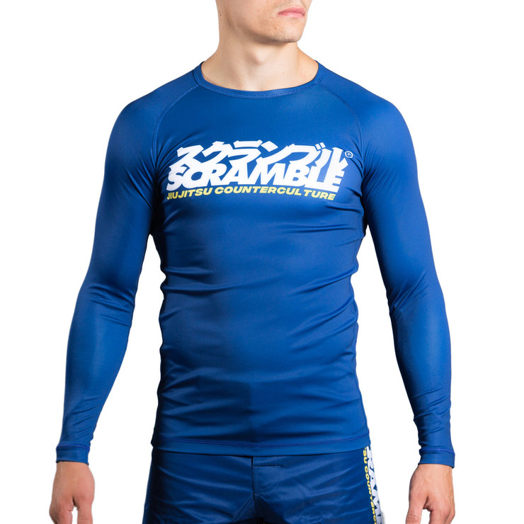 Scramble Roundel Long Sleeve Rash Guard