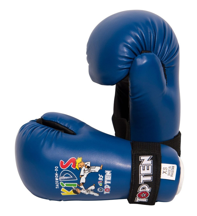 Top Ten Kids Generation ITF Pointfighter Boxing Sparring Gloves Blue