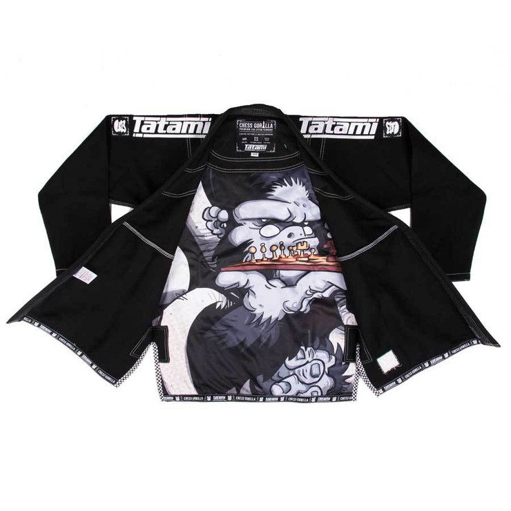 Tatami Fightwear Chess Gorilla BJJ Gi Black