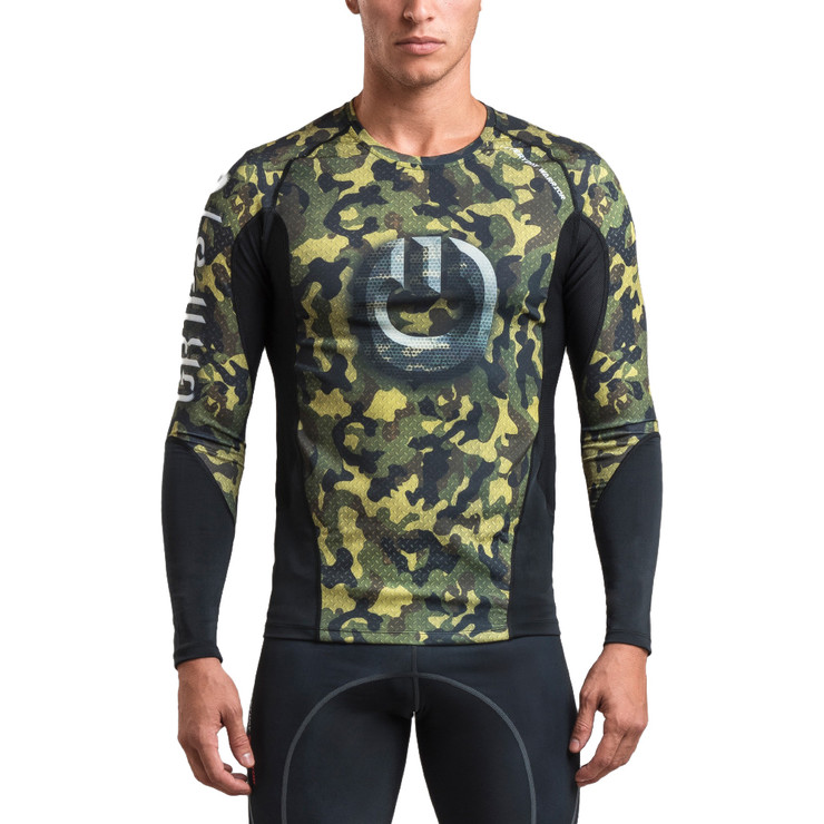 Gr1ps Armadura 2.0 Long Sleeve Rash Guard Camo