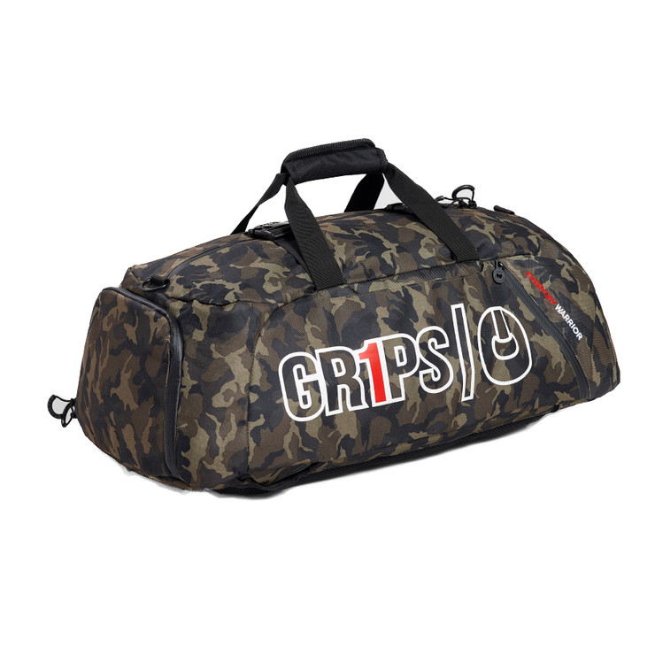 Gr1ps Duffel Backpack 2.0 Woodland Camo