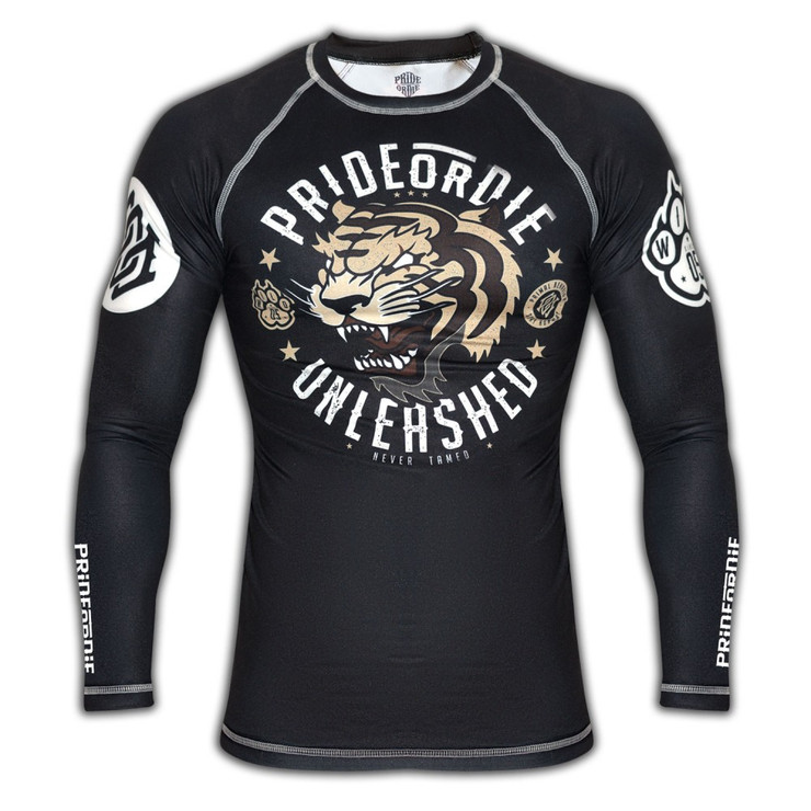 Pride Or Die Unleashed Long Sleeve Rash Guard