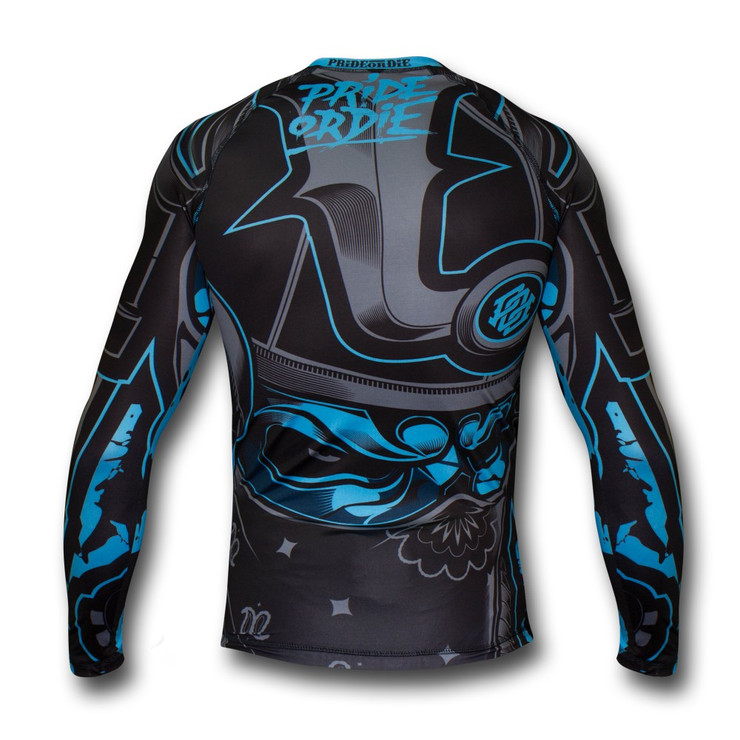 Pride Or Die Ronin Long Sleeve Rash Guard