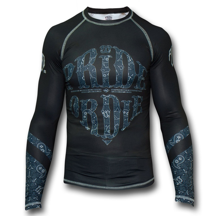 Pride Or Die Reckless Paisley Long Sleeve Rash Guard
